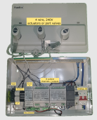 8 zone wiring centre with pump and heat call
